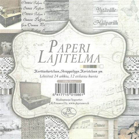 Paperilajitelma Natur
