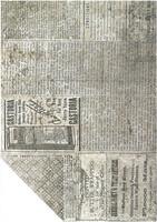 Kuviokartonki Sanomalehti kaksipuolinen