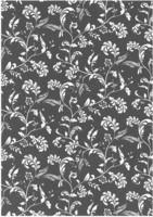 Tyylikas glitterpaperi Mustavalkoköynnös
