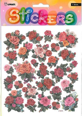 Tarra-arkki Ruusut glitteri