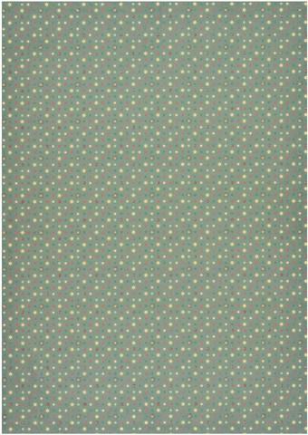 Kuviopaperi vihreä tähti