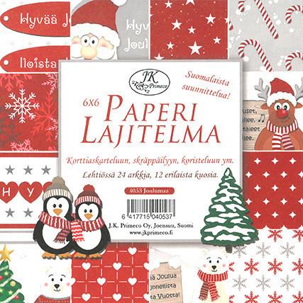 Paperilajitelma Joulumaa