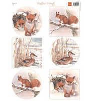 Marianne desing leikekuvat Winter animals-Foxes