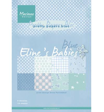 Marianne desing Paperilehtiö Babies blue