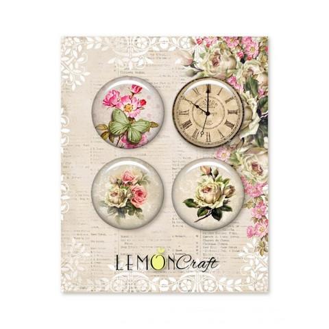 Lemongraft House Of Roses Buttons