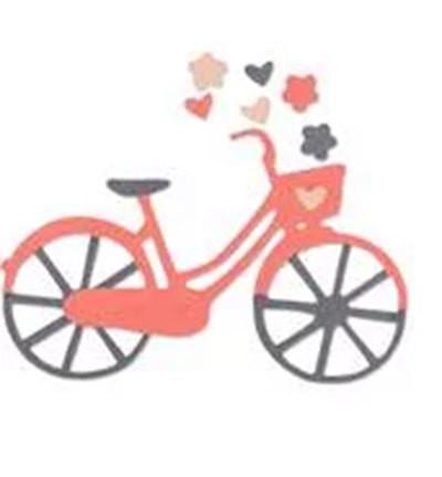 Sizzix stanssi polkupyörä