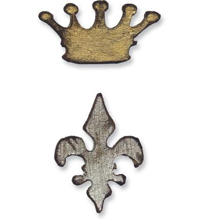 Stanssi Sizziix Kruunu ja ranskanlilja