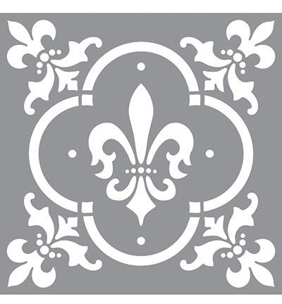 Sabluuna  Fleur de Lis Tile