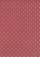 Desingkartonki Sydän-tummanpunainen 5 kpl