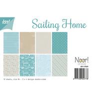 Joy!  Paperilajitelma Sailing Home