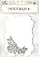 Koristekortti Ruusu