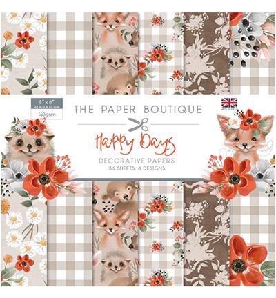 The Paper Boutique - Happy Days Paper paperikko