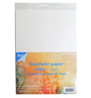 JOY Crafts- Synteettinen valkoinen paperi Yupo A4/ 5kpl