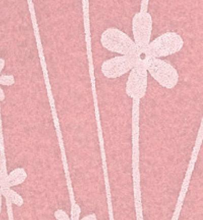 Askarteluhuopa kukkakuosi / vaaleanpunainen