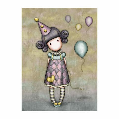 Gorjuss - Onnittelukortti - Pierrot Doll
