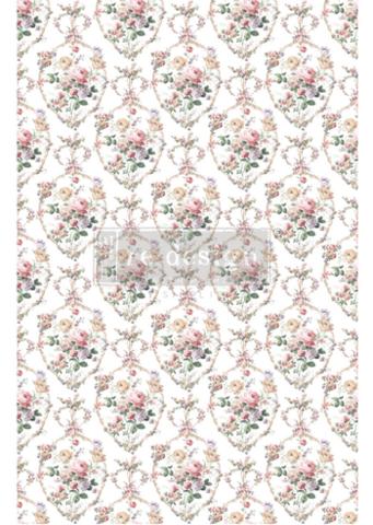 Siirtokuva Vintage Paint - Floral Court