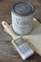 Vintage Paint Brush - Flat, 2