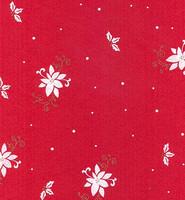Askarteluhuopa  joulutähti, punainen/valkoinen