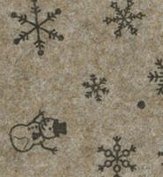 Askarteluhuopa snow, Brown melange/Brown