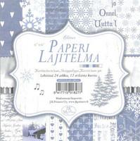 Paperilajitelma glitter