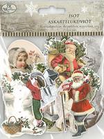 Askartelukuvio Iso Jouluaihe vintage