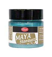Maya Stardust Glittermaali -turkoosi