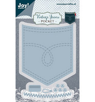 Joy! Crafts Vintage Jeans stanssisetti Pocket