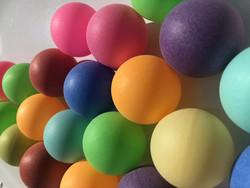 Beer pong balls - 8-pack (värilajitelma)