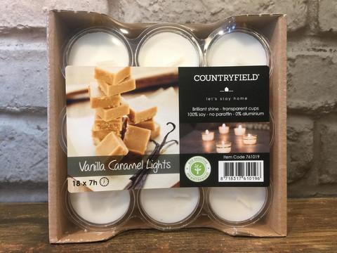 Tuoksu soijatuikku - Vanilla caramel lights