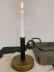 Kynttilän jalka industrial, metallia