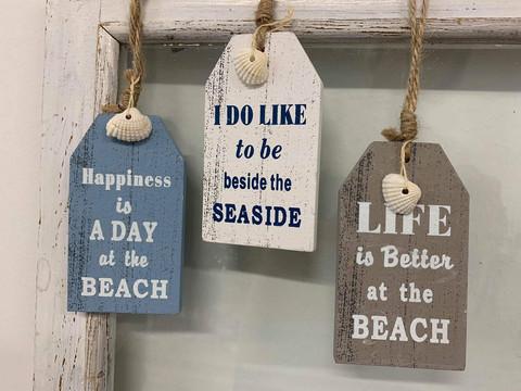 Beach-tekstikyltti