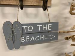 Beach-kyltti, sininen