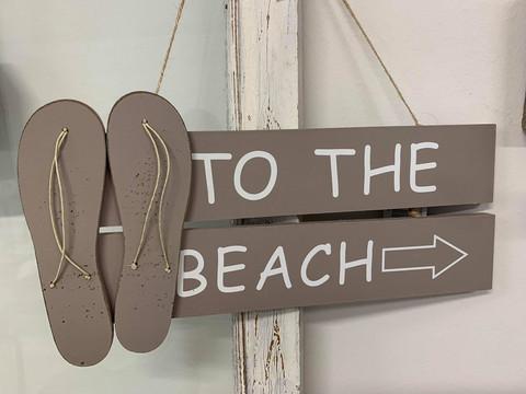Beach-kyltti, beige