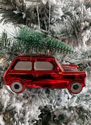Punainen jouluauto