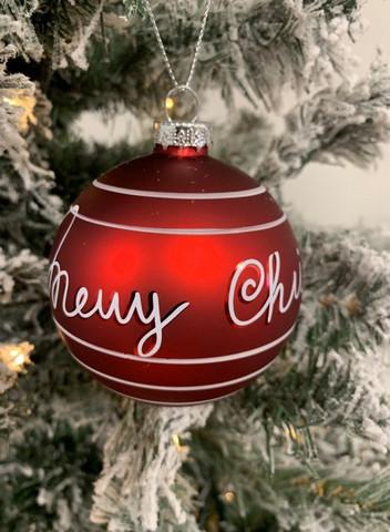 Merry Christmas pun. lasipallo