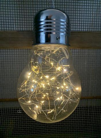 JÄTTI Iso LED-lamppu