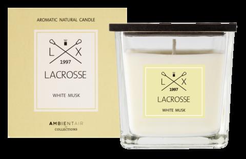 Ambientair tuoksukynttilä WHITE MUSK, LACROSSE