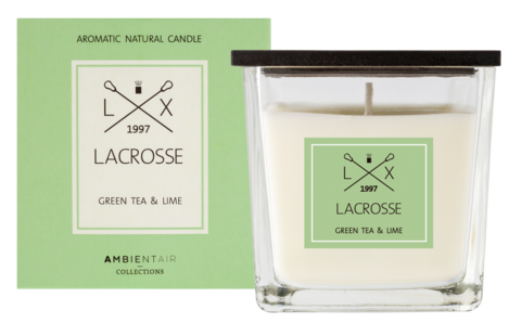Ambientair tuoksukynttilä GREEN TEA & LIME, LACROSSE