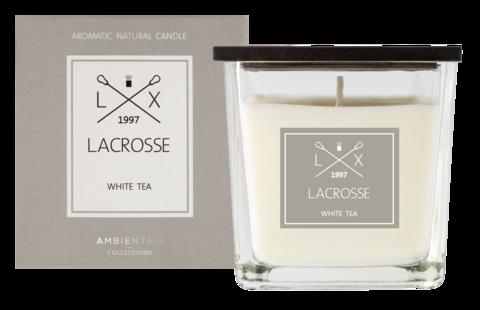 Ambientair tuoksukynttilä WHITE TEA, LACROSSE