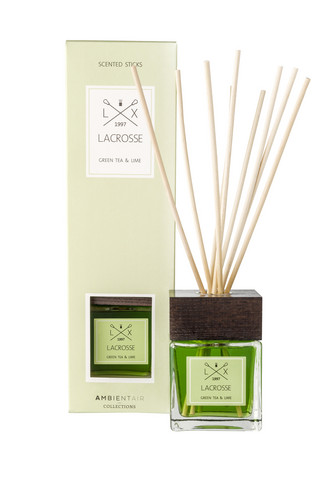 Ambientair huonetuoksu GREEN TEA & LIME, LACROSSE 200ml