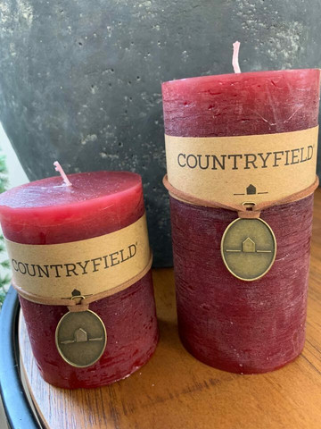 Classic kynttilä, viininpunainen koko M