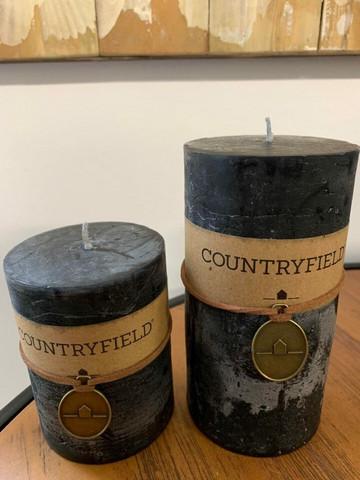 Classic kynttilä, musta koko L