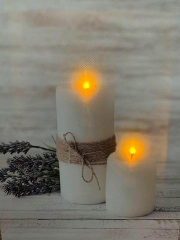 Pikku led-taulu kynttilä Maria