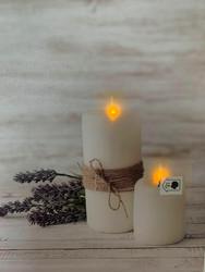 Led-taulu kynttilä Maria (puhallus toiminto)