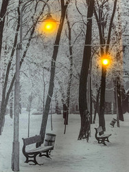 Led-taulu puisto katulyhdyt (ajastin)