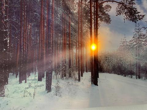 Led-taulu auringon kajastus (ajastin)