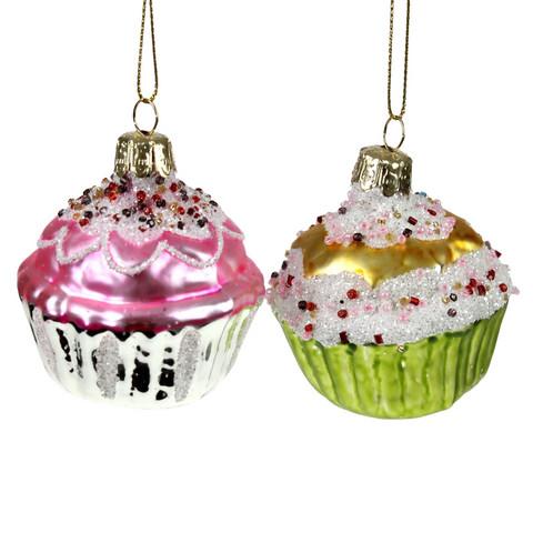 Cupcake lasikoriste, (6kpl)