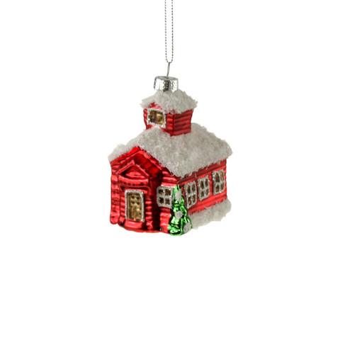 Punainen talo, lasia