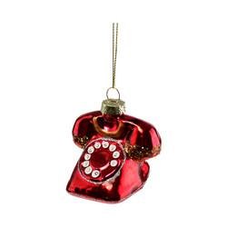 Punainen puhelin, lasia