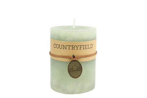 Classic kynttilä, vaal. vihreä koko M